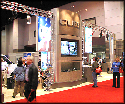 Trade Show Display System and Exhibit Booth