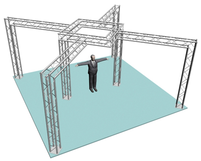 Trade Show Truss Design - Exhibit and Display Booth