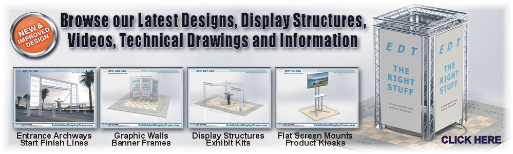 Trade Show Exhibits and Displays for Exhibitin or Convention Halls