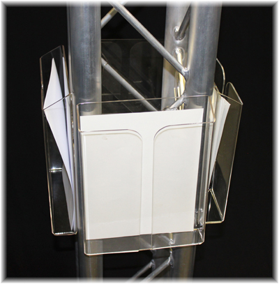 truss literature or brochure holder