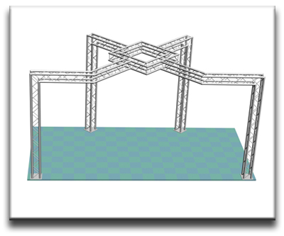 Aluminum Truss Trade Show Display System