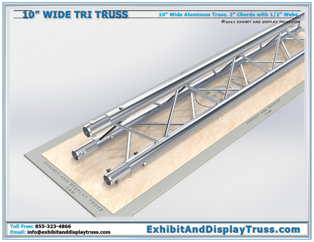 10″ Wide Triangle Truss / Linear Lengths and Pricing