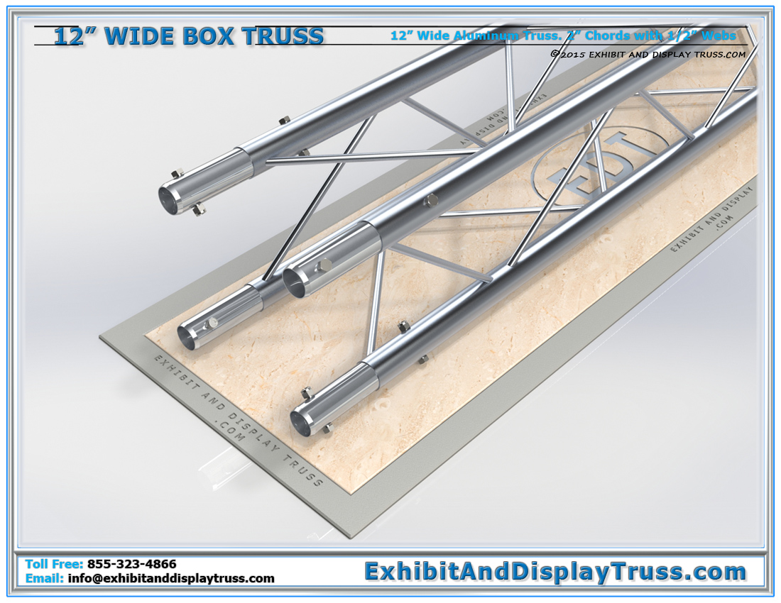 12″ Wide Box Truss / Linear Truss Lengths and Pricing