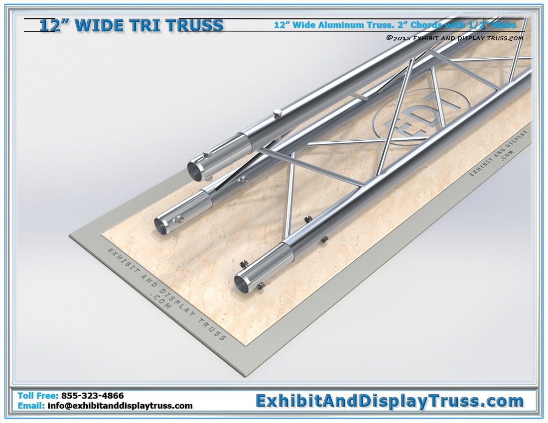 12″ Wide Triangle Truss / Linear Truss Lengths and Pricing