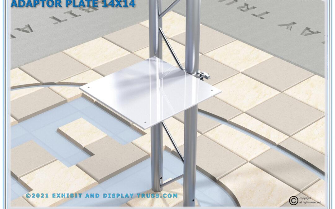 14×14 Shelf Adaptor Plate