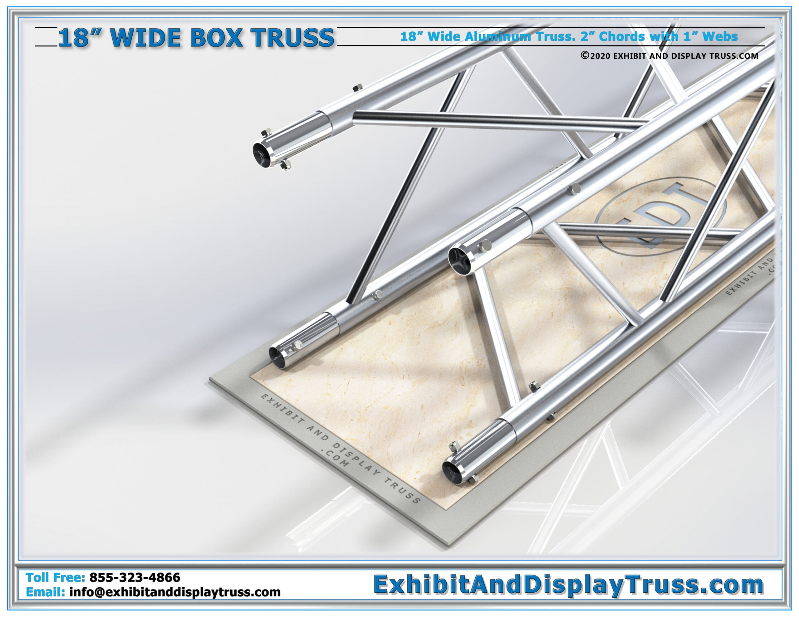 18″ Wide Box Truss / Linear Truss Lengths and Pricing