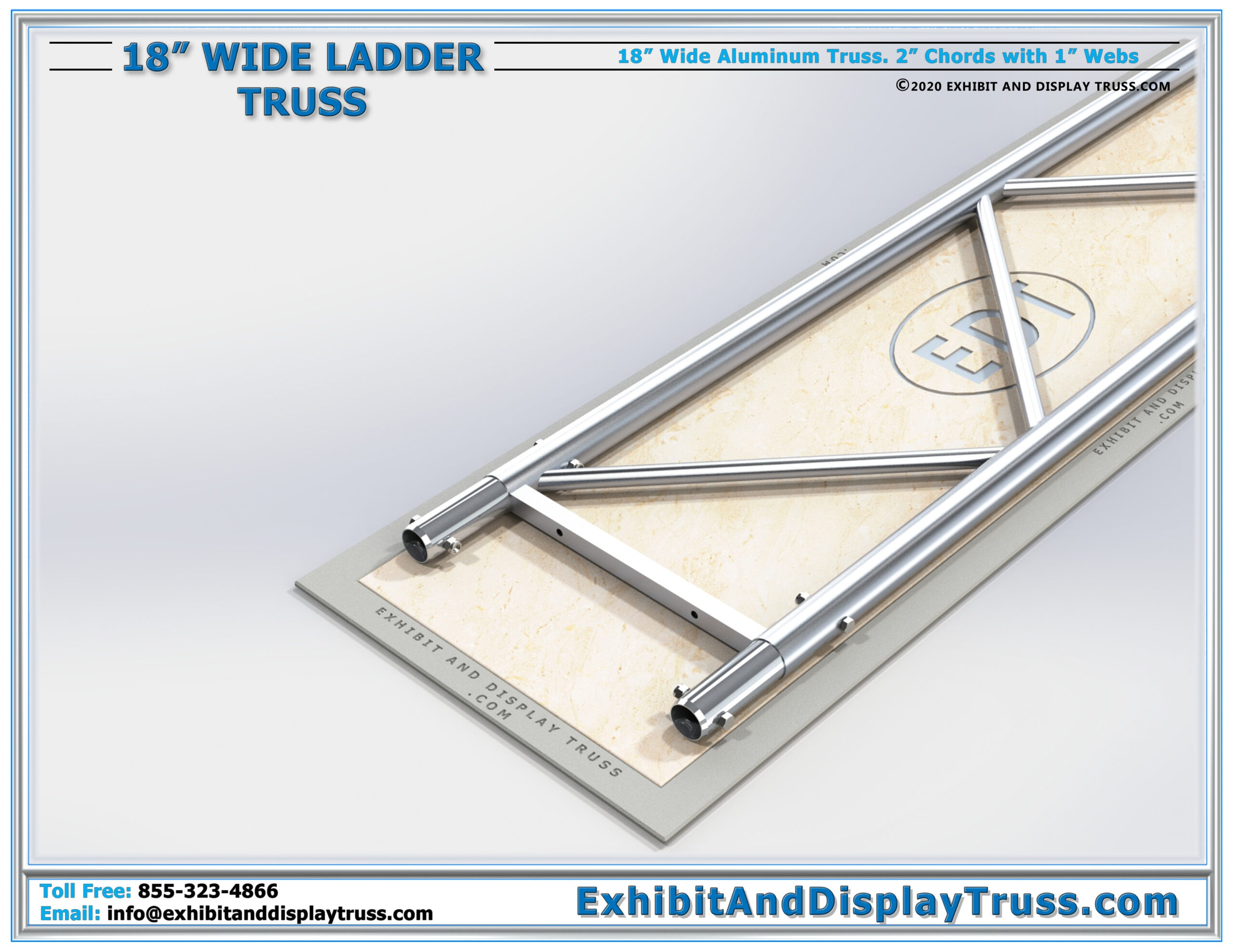 18″ Wide Ladder Truss / Linear Truss Lengths and Pricing