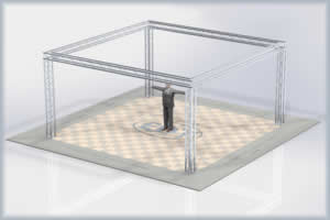 20 x 20_exhibit display booth truss kit trussing system