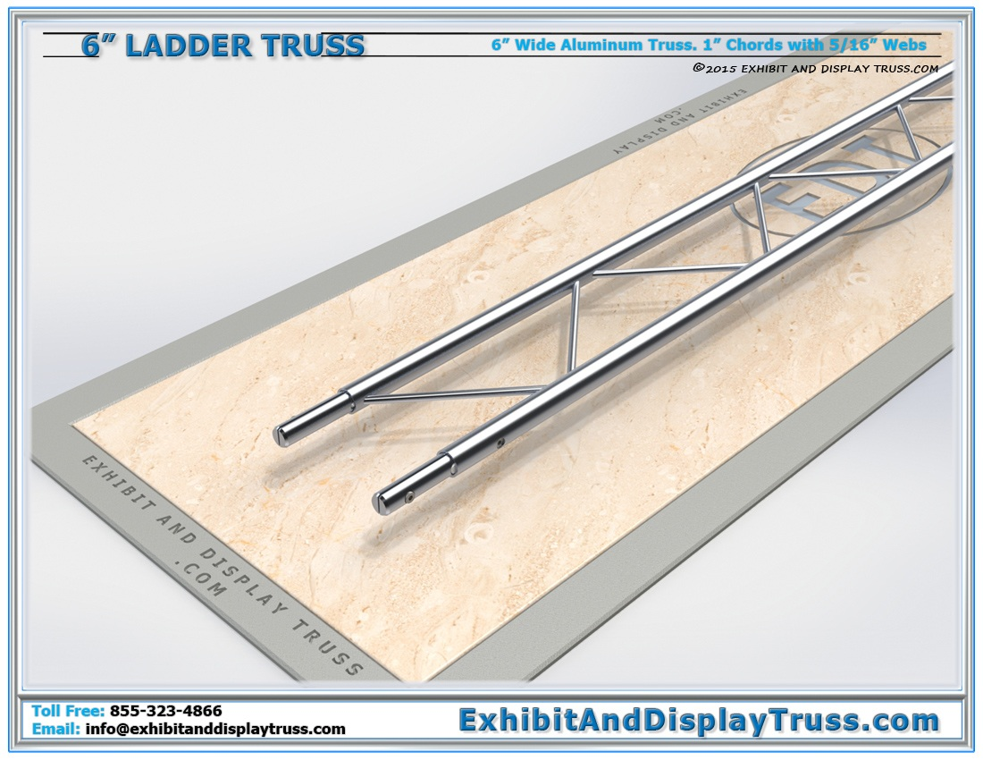PART: 6″ Wide Ladder Truss / Linear Truss Lengths and Pricing