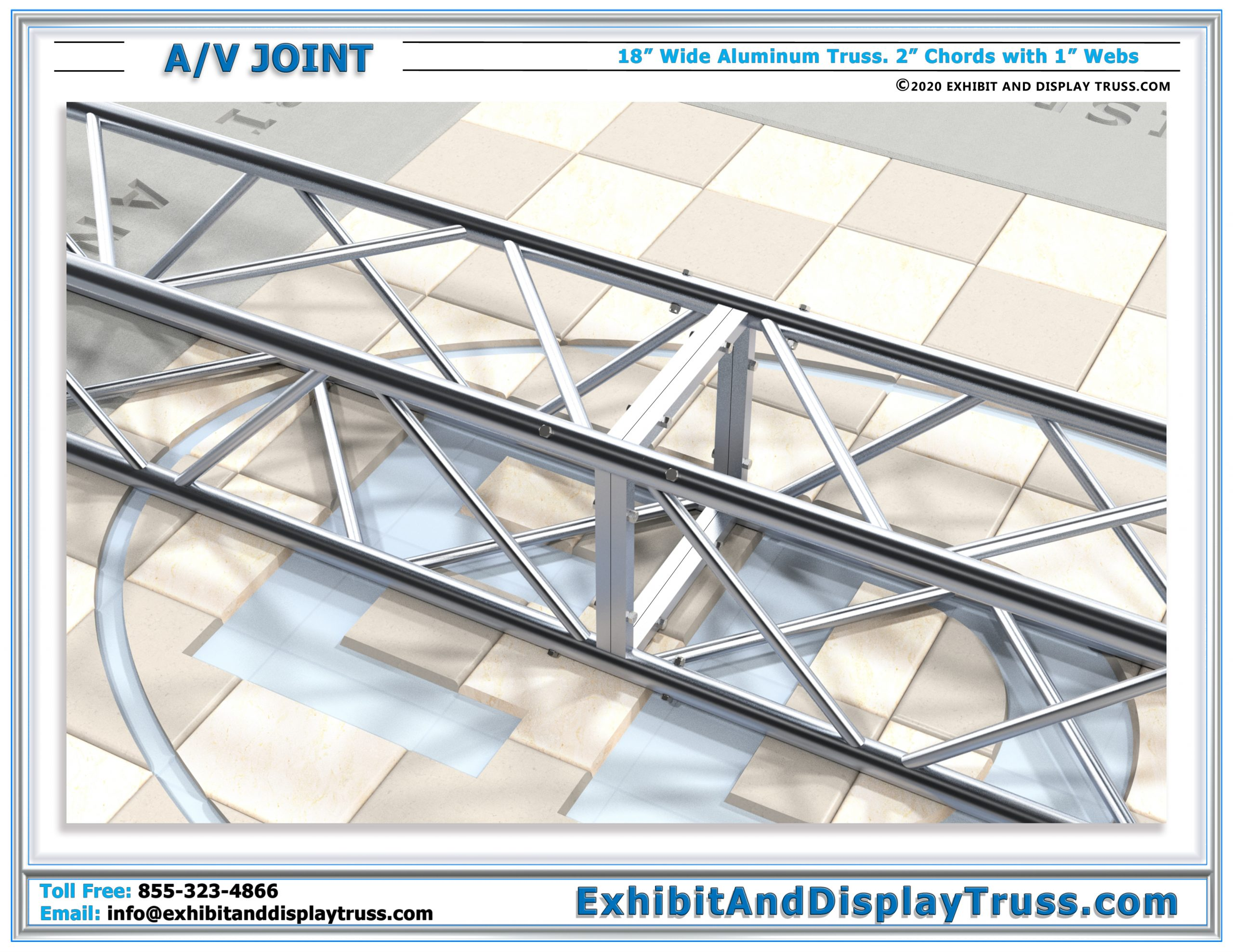A/V Joint – Structural Fortification for Aluminum Trussing Components