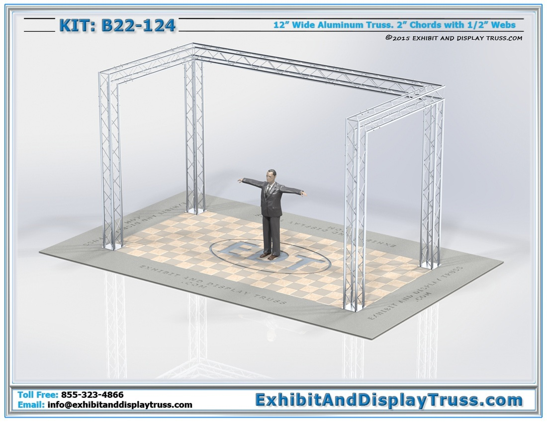 Kit: B22-124 / Durable Display Show Booth