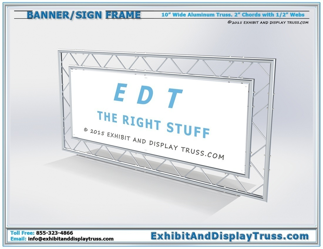 Banner Frames / Banner Frame Kit and Portable Banner Frames