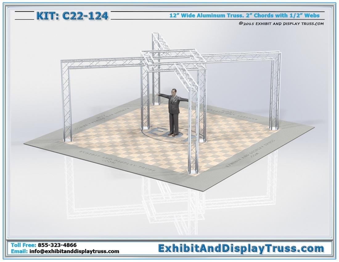 Kit: C22-124 / Modern Lighting Truss Display Kit