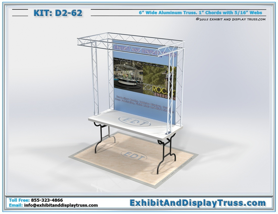 Kit: D2-62 / Tabletop Trade Show Displays
