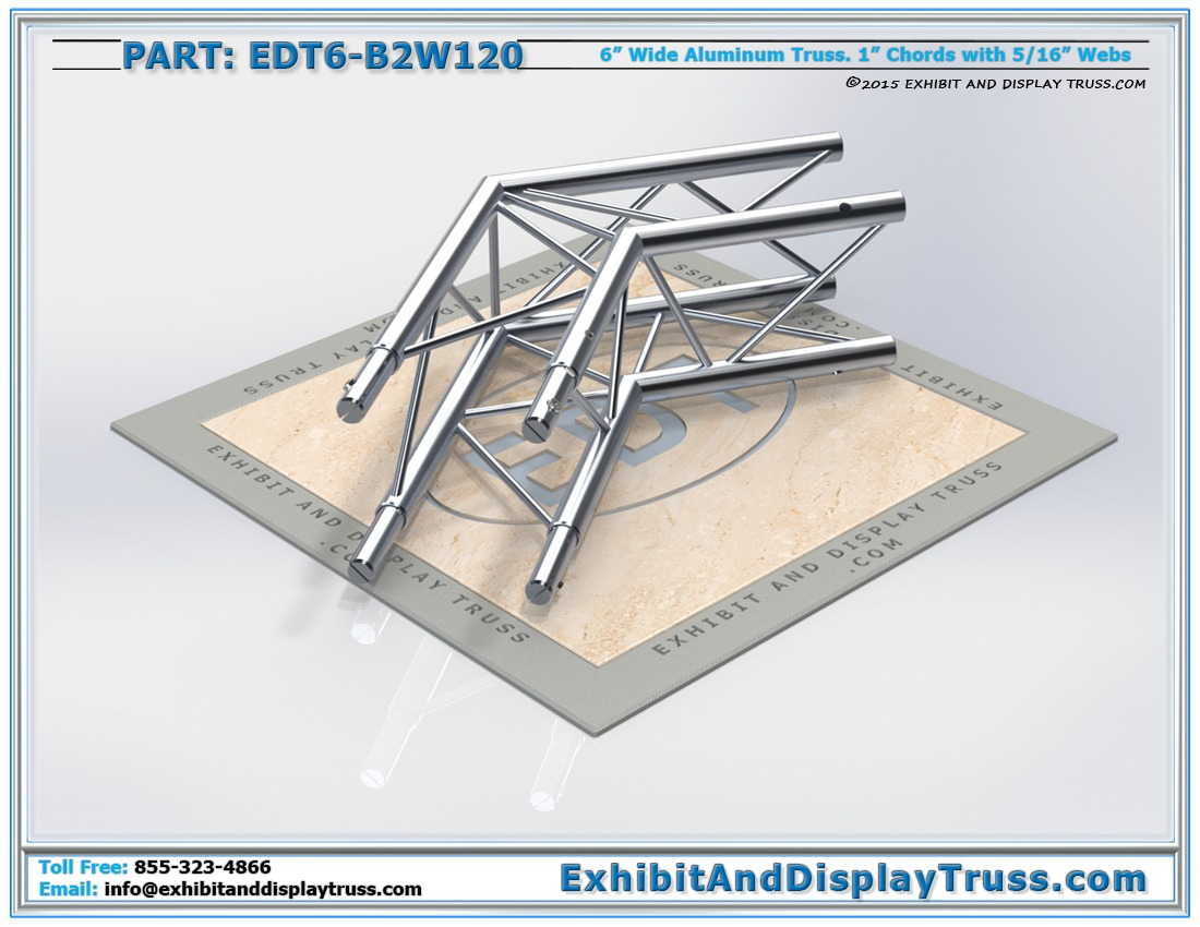 EDT6-B2W120 / 2 Way 120° Box Junction