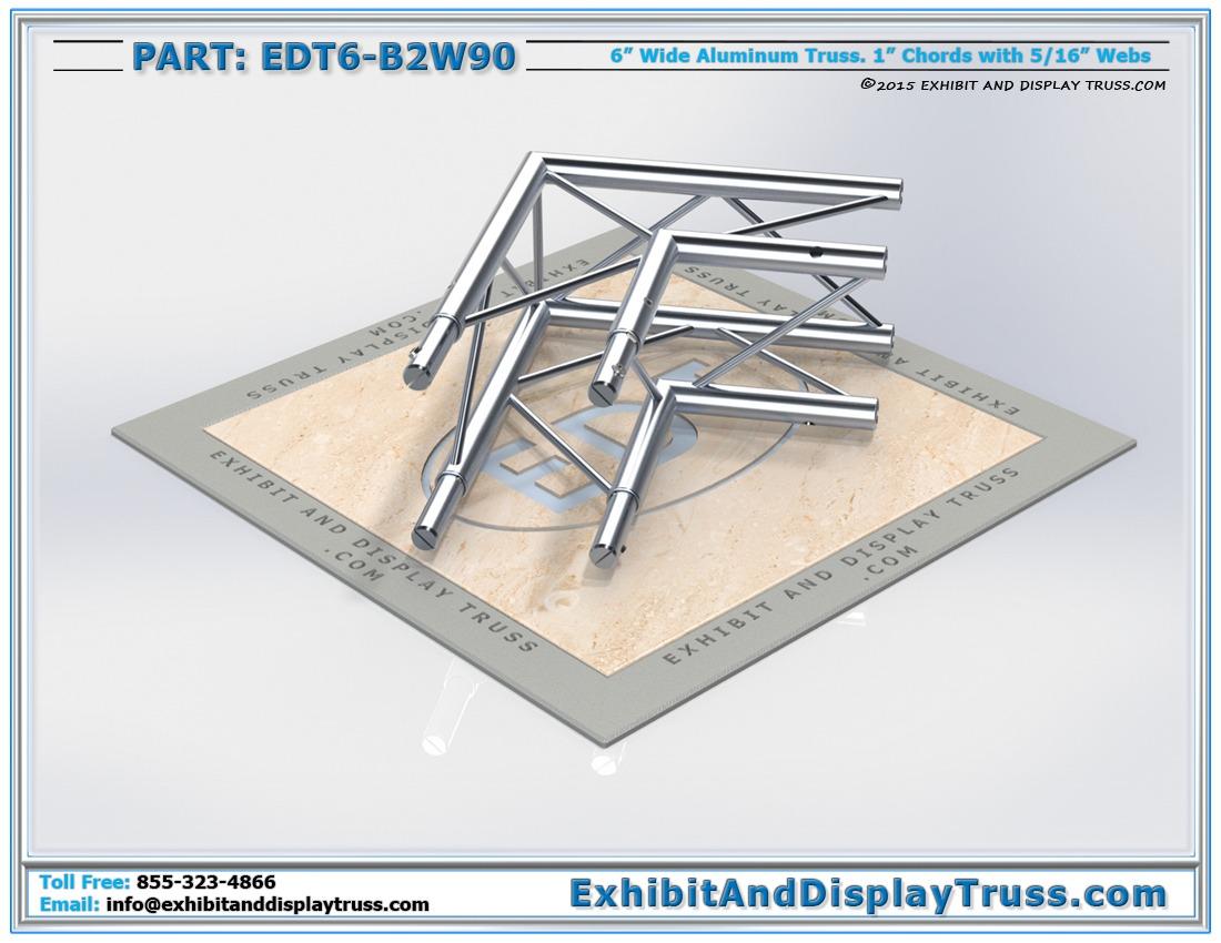 EDT6-B2W90 / 2 Way 90° Box Junction