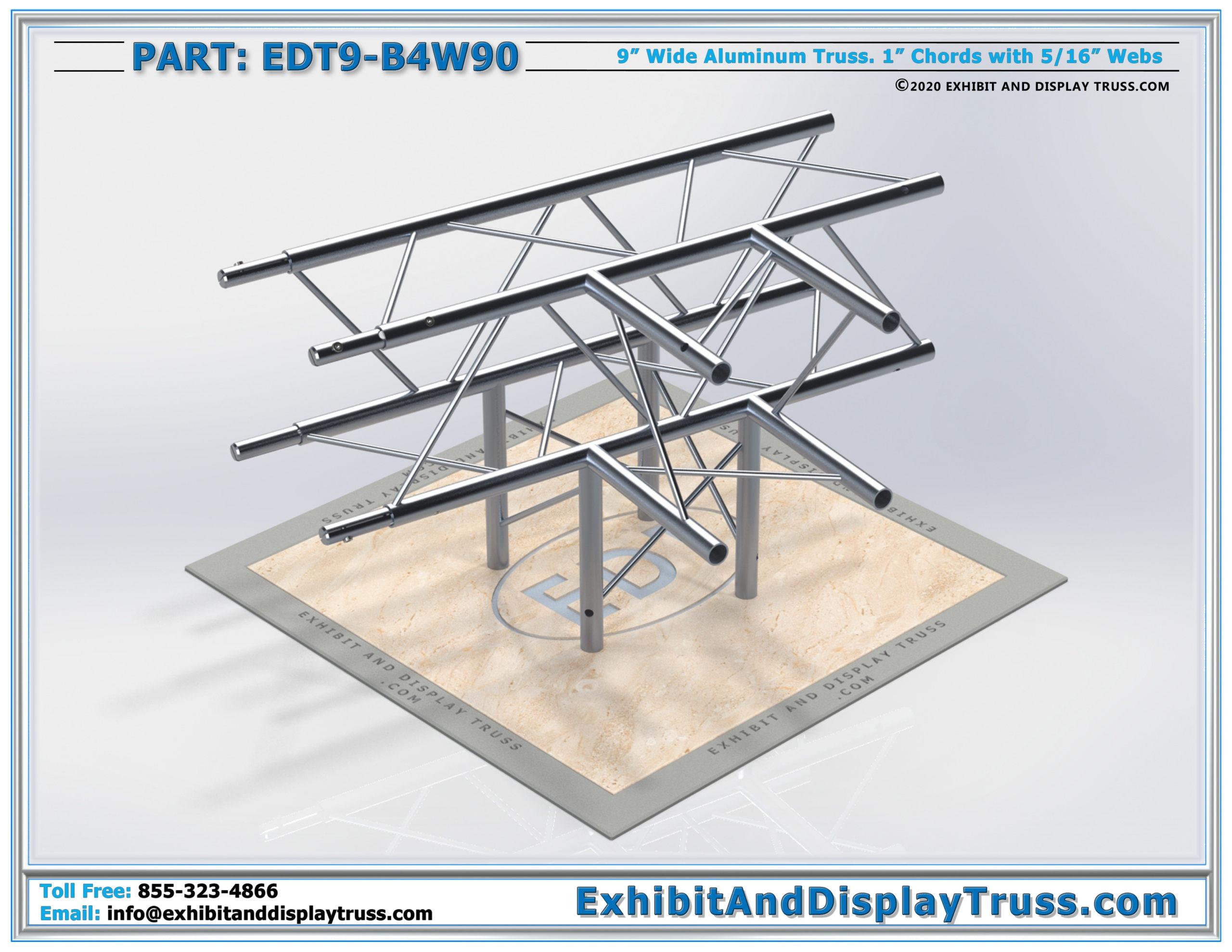 EDT9-B4W90 / 4 Way 90° Box Junction