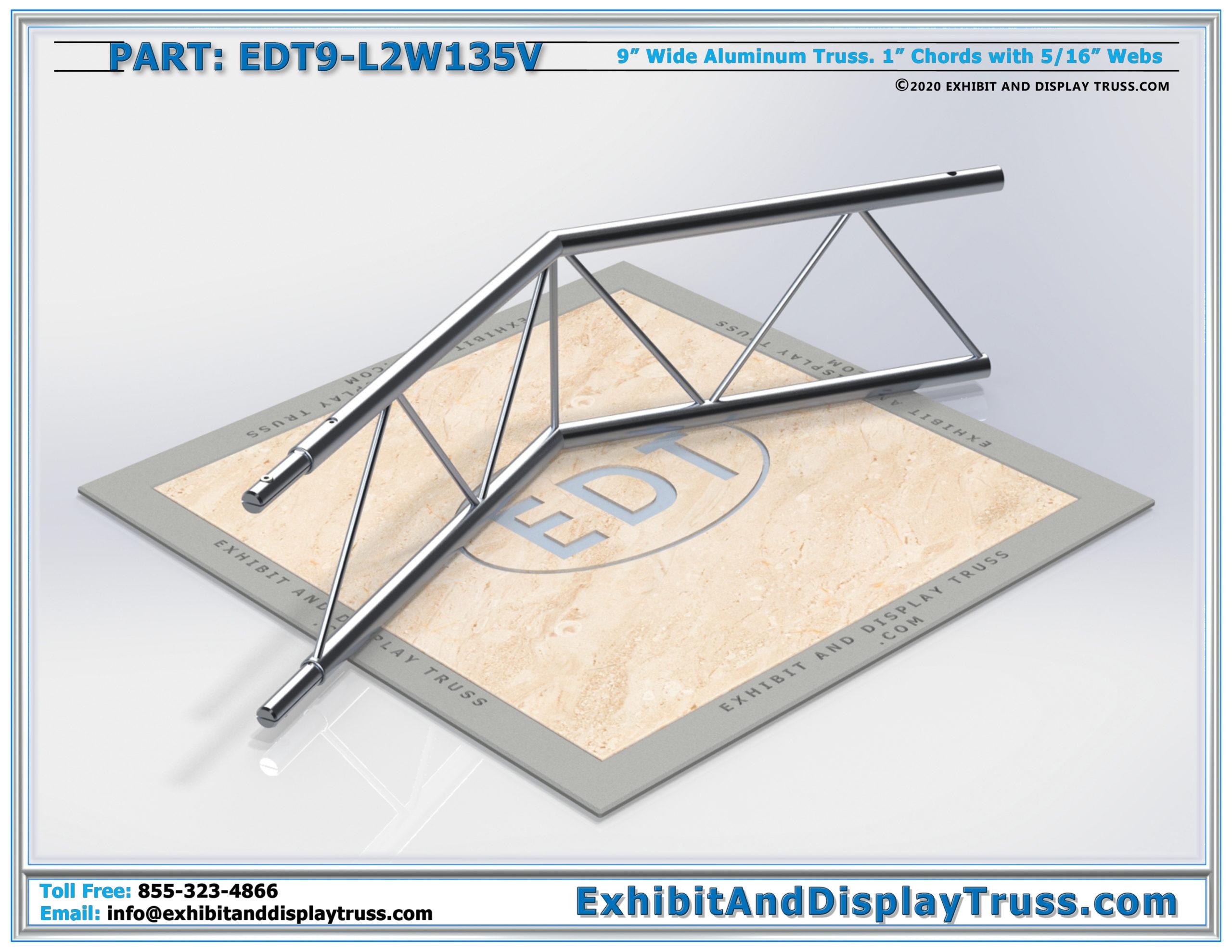 EDT9-L2W135V / 2 Way 135° Ladder Junction Vertical