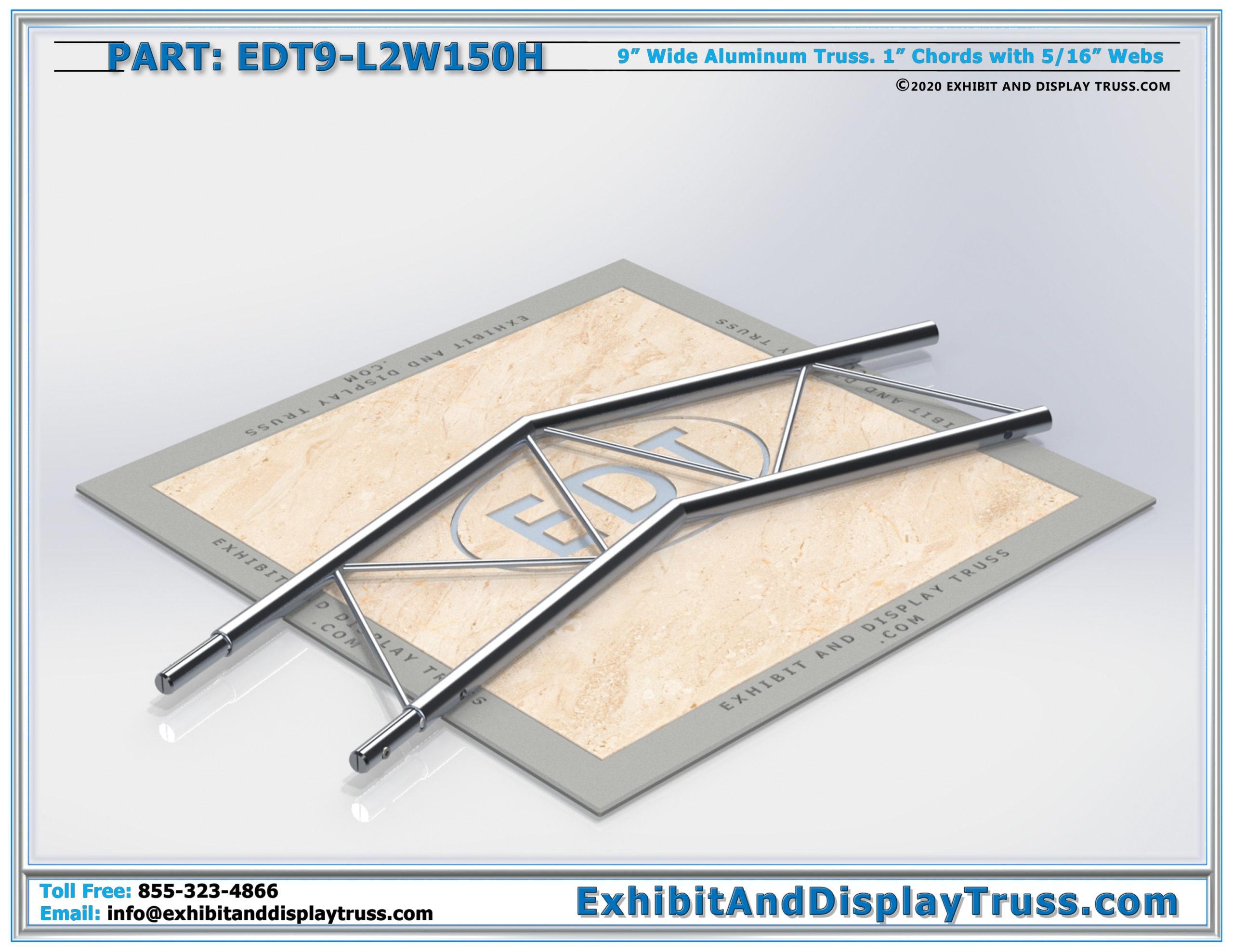 EDT9-L2W150H / 2 Way 150° Ladder Junction Horizontal