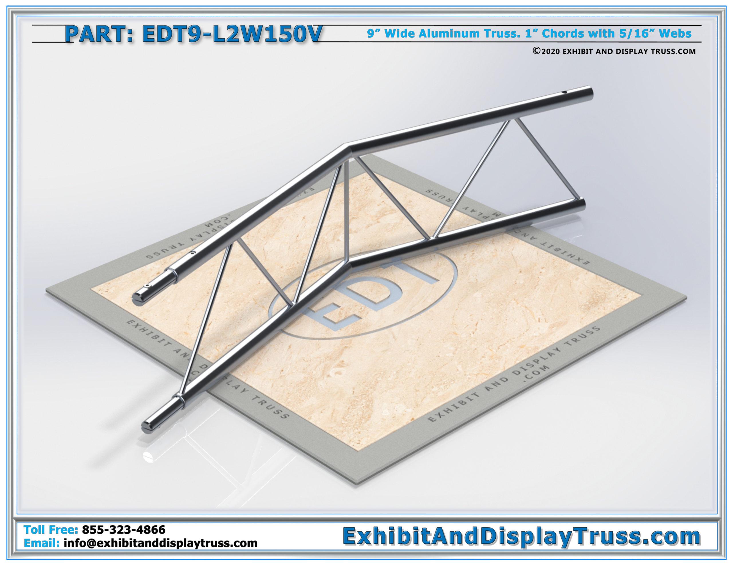 EDT9-L2W150V / 2 Way 150° Ladder Junction Vertical