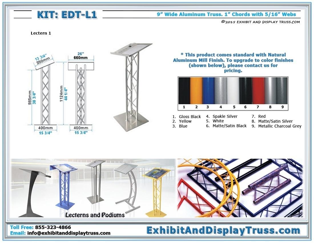 Kit: EDT-L1 / Lectern 1
