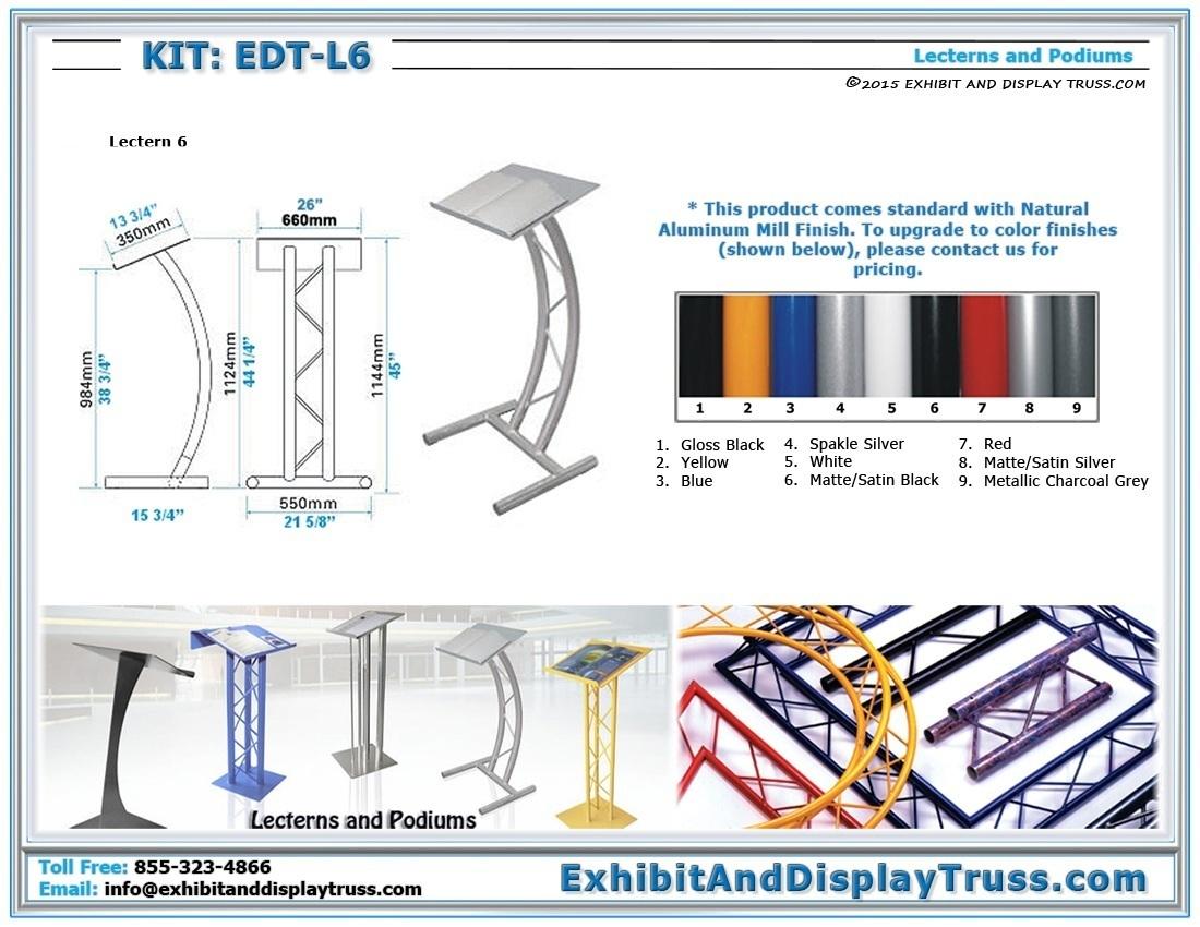 Kit: EDT-L6 / Lectern 6
