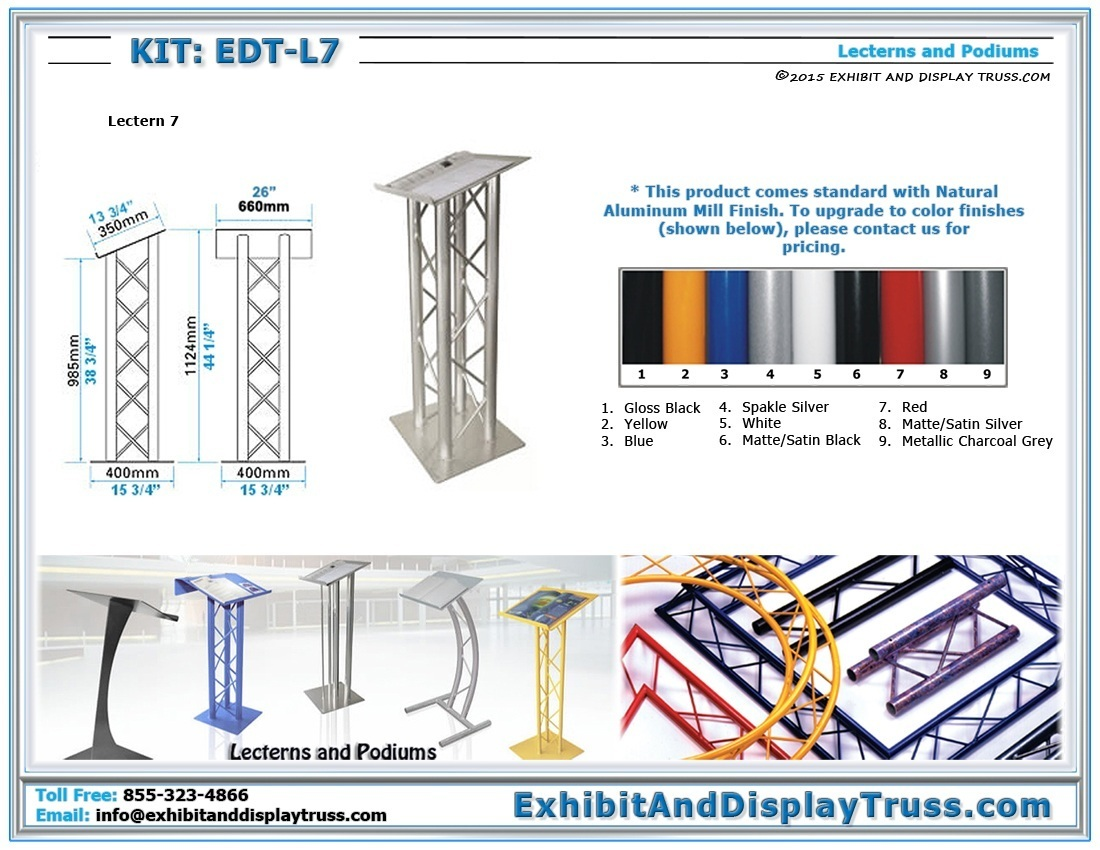 Kit: EDT-L7 / Lectern 7