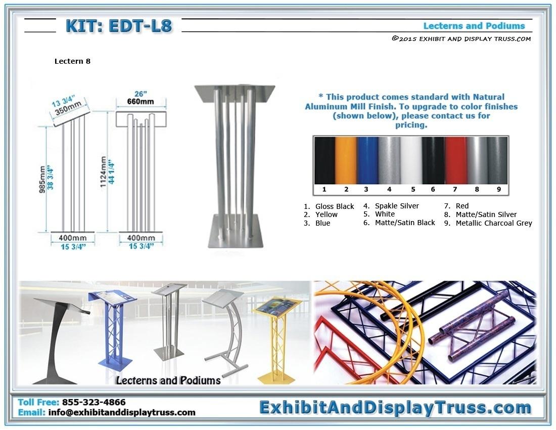 Kit: EDT-L8 / Lectern 8