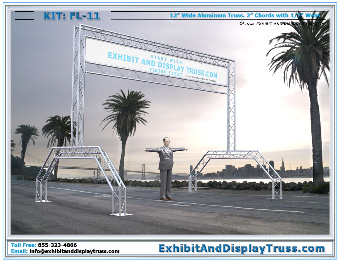 FL-11 Finish Line and Starting Line Kit / Best Selling Gantry Style Racing Structure