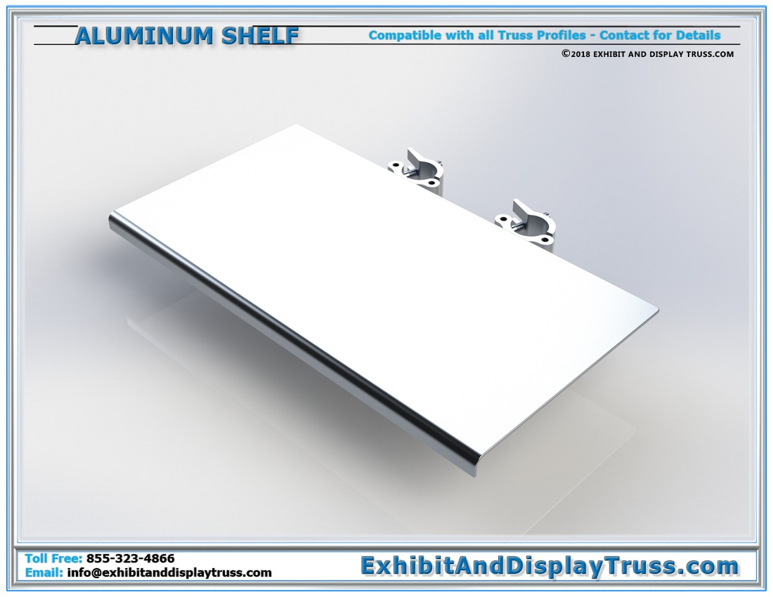 Large Aluminum Shelf / Table